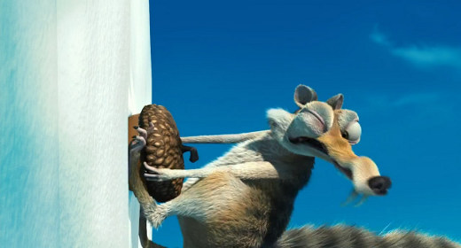 the release of Ice Age 2  Ice Age Squirrel Gif